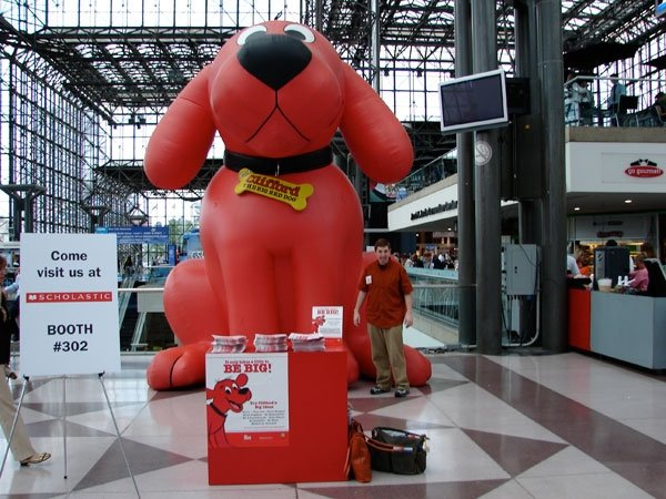 Stinkhead and Clifford at BEA 2009
