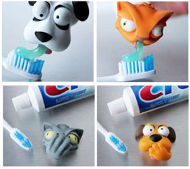 toothpaste heads